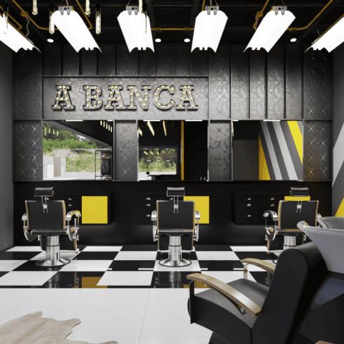 Barbearia A Banca